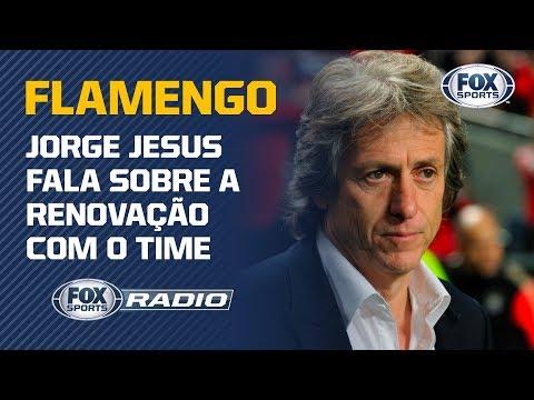 JORGE JESUS CHEGA AO BRASIL E FALA SOBRE A RENOVAÇÃO COM O FLAMENGO; VEJA