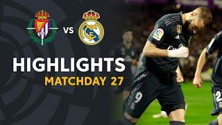Highlights Real Valladolid Vs Real Madrid (1-4)