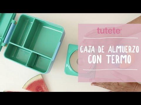 Caja de Almuerzo con Termo - Vuelta al Cole Tutete