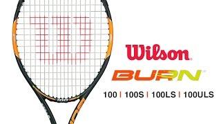 Ρακέτα τέννις Wilson Burn 100LS DEMO video