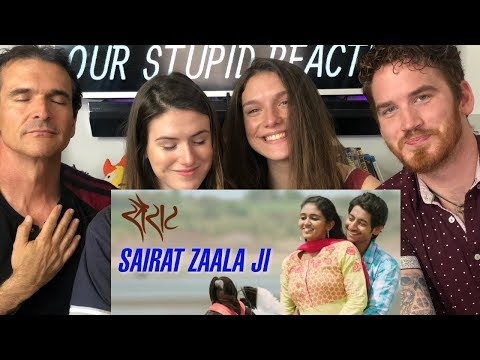 Sairat Zaala Ji Song REACTION! - Marathi Songs