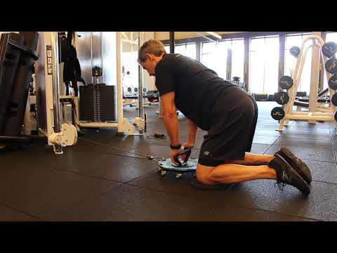 Quadruped Cable Lat Pull
