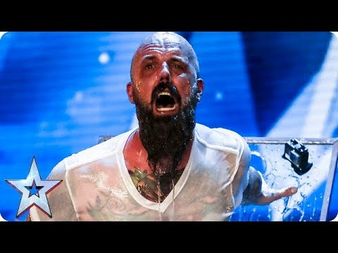 Matt Johnson has Judges holding their breath IN FEAR! | Auditions Week 1 | Britain's Got Talent 2018 (видео)
