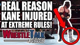 WWE Team BREAKING UP? Real Reason Kane INJURED At WWE Extreme Rules! | WrestleTalk News July 2018