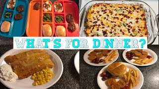 What's for dinner? Family meal ideas! April & May 29-3 #real life dinners