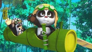 Кротик и Панда - все серии сразу - сборник - 46-52 -  развивающий мультфильм для детей