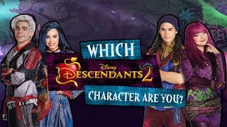 Which DESCENDANTS 2 Character Are You? (November Edition)