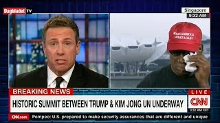 Dennis Rodman cries discussing Trump and Kim's biggest diplomatic breakthrough of the 21st centu