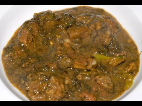 Gongura mutton curry