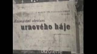 Otevření urnového háje 1962