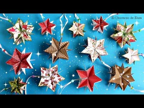 Abuela creativa decora tu rbol de navidad con estrellas - Decora tu arbol de navidad ...
