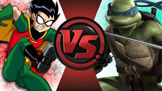 robin vs leonardo cartoon fight club episode 68