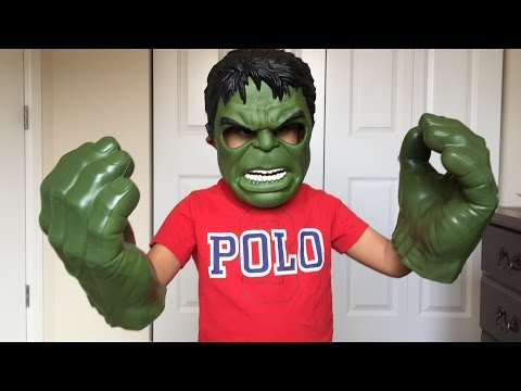 Hulk Mask & Hulk Hands