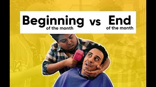 Beginning Of The Month vs End Of The Month | Jordindian