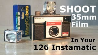 Shoot 35mm Film in 126 Instamatic Camera - Cartridge Reload