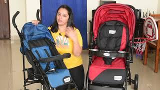 Pram या Buggy खरीदने से पहले ये वीडियो ज़रूर देखिये | What is best for your baby Stroller or Buggy?