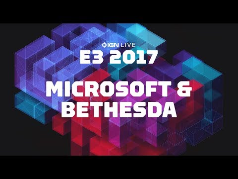 E3: Microsoft Xbox & Bethesda Conferences Plus Gameplay Interviews – IGN Live