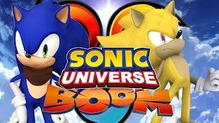 Sonic Universe Co-op /w SonicDBZFan07 - Part 1 City Escape/Power Plant/Hang Castle