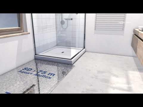 How to install EGGER Aqua+ laminate flooring in bathroom