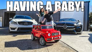It's time for another new car...BECAUSE WE'RE HAVING A BABY! by Evan Shanks