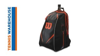 Wilson Burn Team Topspin Tennis Backpack video