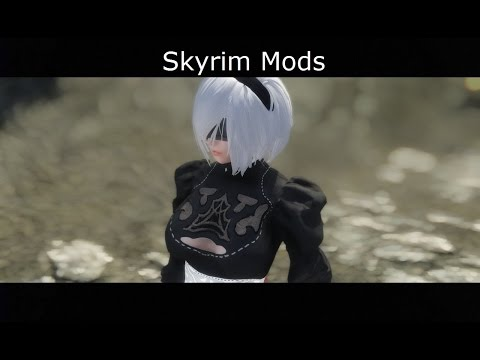 Skyrim Mods: New Game - New Character (part 1)