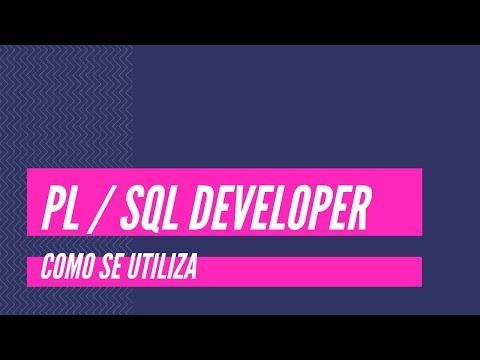 ¿Como se utiliza…? PL / SQL Developer