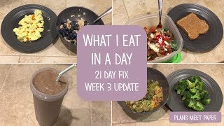 What I Eat In A Day | Healthy | 21 Day Fix