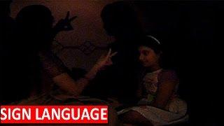 Gangaa Teaches Sign Language To Krishna In 'Gangaa' | #TellyTopUp