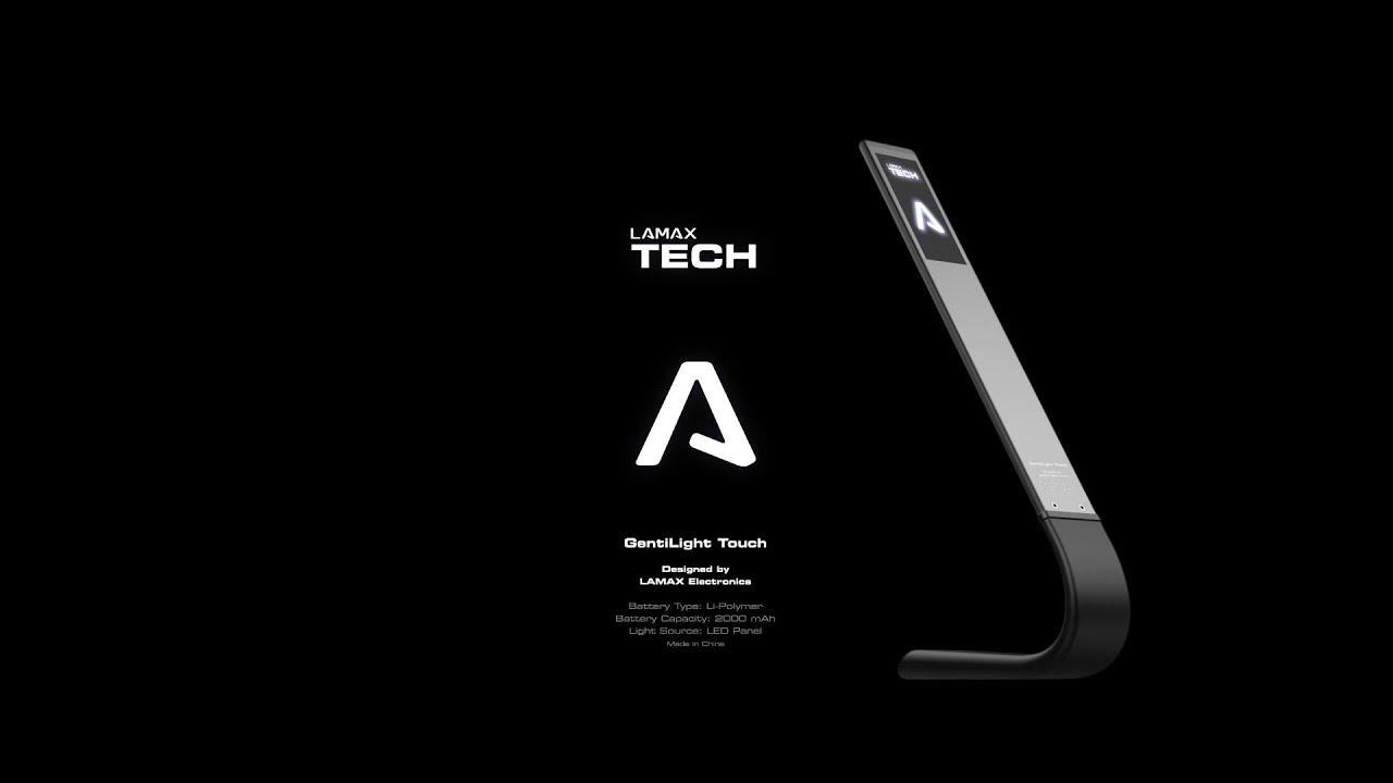 Gentilight Touch Black - video