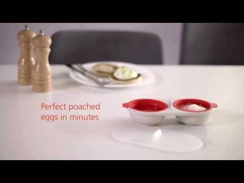 M-Cuisine Microwave Egg Poacher by Joseph Joseph
