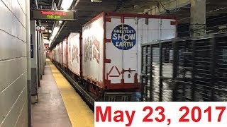 Final Ringling Brothers And Barnum & Bailey Circus Train - May 23, 2017