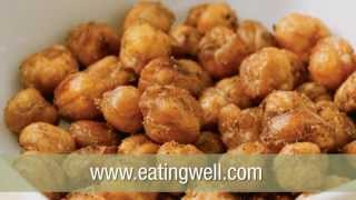 Healthy Snack: Baked Chickpea Nuts Recipe