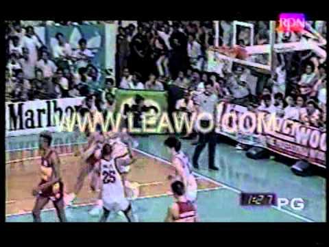1989 PBA Open Finals: SMB vs Shell