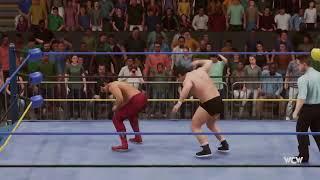 My WWE 2K18 Universe All-CPU Stream: WCW Saturday Night (Jan.W2.17)