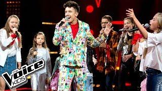 """Drużyna Dawida - """"Rozpalimy ogień"""" - The Voice Kids Poland 2"""