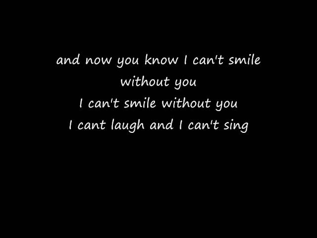 Can-t-smile-without-you