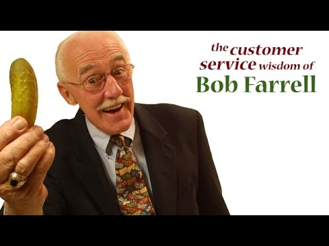 Give Em The Pickle By Bob Farrell - Customer Service Training Video