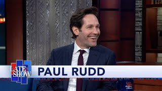 """Paul Rudd Made A Fake ID That Listed The Height As 5'12"""""""