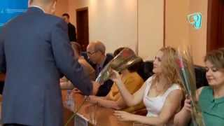 preview picture of video 'День работника связи в областном суде'
