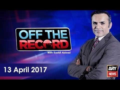 Off The Record 13th April 2017