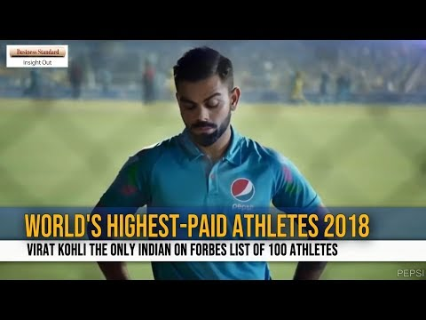 4313c85c313  World s Highest-Paid Athletes 2018   Virat Kohli the only Indian on Forbes  list of 100 athletes