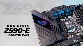 ASUS ROG STRIX Z590-E Gaming WIFI - First Look & Overview