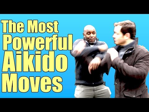 The Most Powerful Aikido Moves - YouTube
