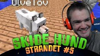 Minecraft Strandet #5 - Skide Hund - Dansk