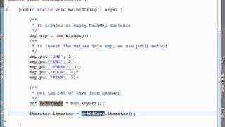HashMap Iterator