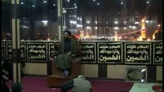 preview picture of video '08-Dec-2014 Karbala - Majlis - Air Guide Arbaeen Ziyarat group'