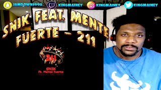 (GREEK)SNIK Feat. Mente Fuerte   211 (Prod. By BretBeats)   Official Audio Release REACTION!!