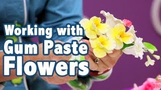 Tips on How to Work with Gum Paste Flower Sprays | Cake Tutorials