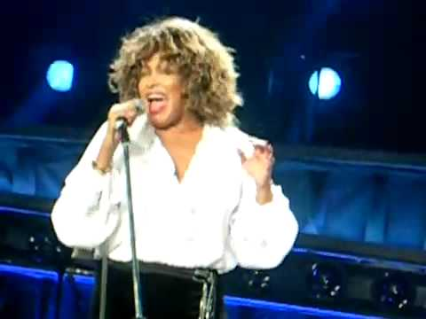 Tina Turner - Be Tender With Me, Baby - Sheffield Arena - 5 May 2009
